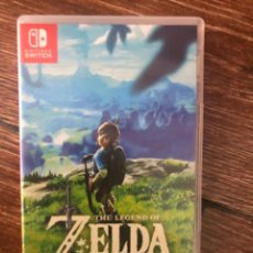 Videojuegos y Consolas Nintendo Switch: THE LEGEND OF ZELDA: BREATH OF THE WILD SWITCH. Lote 241441185