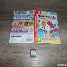 Videojuegos y Consolas Nintendo Switch: NINTENDO SWITCH SNIPPERCLIPS PLUS PAL ESP COMPLETO. Lote 241917505