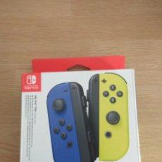 Videojuegos y Consolas Nintendo Switch: CAJA VACIA JOY-CON AZUL AMARILLO NEON. NINTENDO SWITCH. Lote 246268020