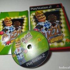 Videogiochi e Consoli: BUZZ! EL GRAN CONCURSO DE DEPORTES ( PLAYSTATION 2 - PS2 - PAL ESPAÑA). Lote 247768980