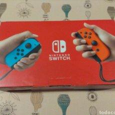 Videojuegos y Consolas Nintendo Switch: CAJA VACIA E INTERIORES NINTENDO SWITCH. Lote 248281725
