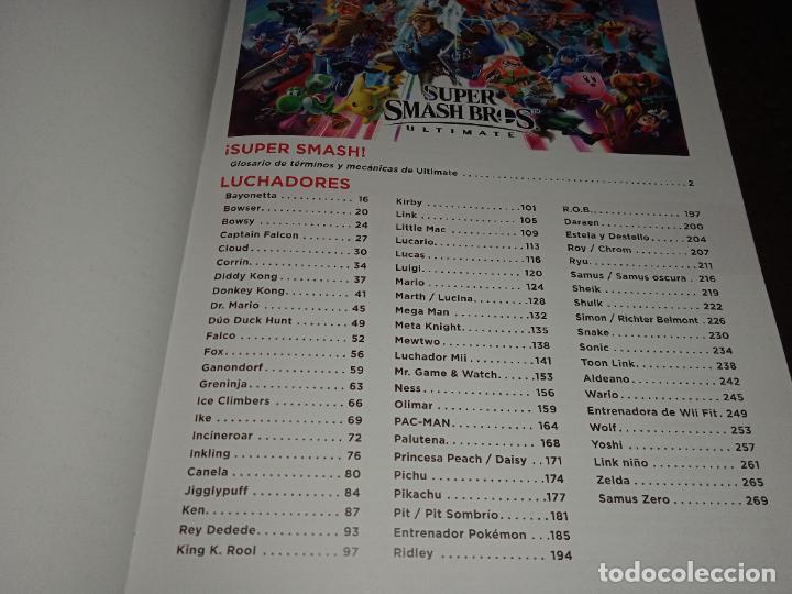 Videojuegos y Consolas Nintendo Switch: GUÍA Oficial ataques técnicas personajes SUPER SMASH BROS ULTIMATE Nintendo switch - Foto 2 - 251020960