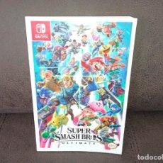Videojuegos y Consolas Nintendo Switch: GUÍA OFICIAL ATAQUES TÉCNICAS PERSONAJES SUPER SMASH BROS ULTIMATE NINTENDO SWITCH. Lote 251020960