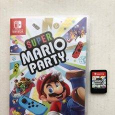 Videojuegos y Consolas Nintendo Switch: SUPER MARIO PARTY NINTENDO SWITCH KREATEN. Lote 252358745