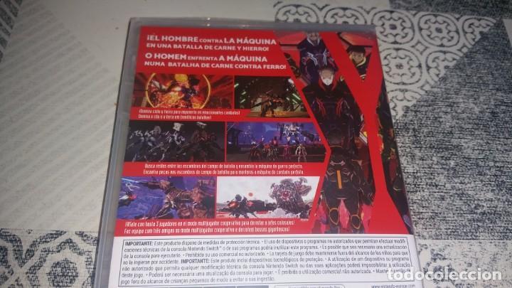 Videojuegos y Consolas Nintendo Switch: DAEMON X MACHINA NINTENDO SWITCH PAL ESPAÑA PRECINTADO - Foto 3 - 252841340