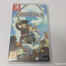 Videojuegos y Consolas Nintendo Switch: DEPONIA. Lote 256056540