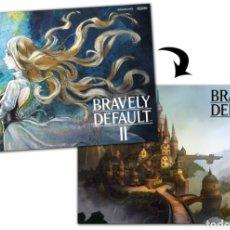 Videojuegos y Consolas Nintendo Switch: PÓSTER BRAVELY DEFAULT II - 2 (REVERSIBLE). Lote 259266145