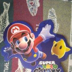 Videojuegos y Consolas Nintendo Switch: CARTON PUBLICIDAD MARIO WORLD. Lote 261692640