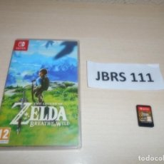 Videojuegos y Consolas Nintendo Switch: SWITCH - THE LEGEND OF ZELDA - BREATH OF THE WILD , PAL ESPAÑOL. Lote 262458430