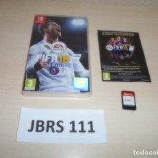 Videojuegos y Consolas Nintendo Switch: SWITCH - FIFA 18 ,PAL ESPAÑOL , COMPLETO. Lote 262458500