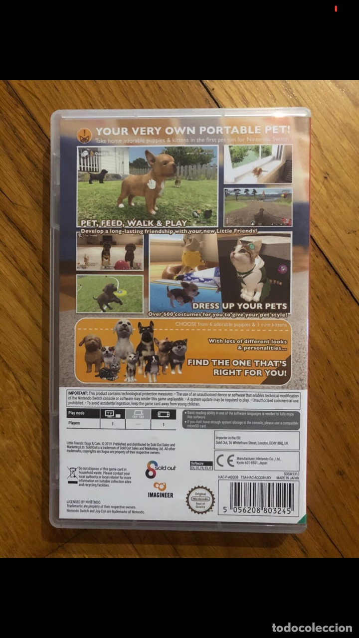 Videojuegos y Consolas Nintendo Switch: JUEGO LITTLE FRIENDS SWITCH - Foto 2 - 262971785