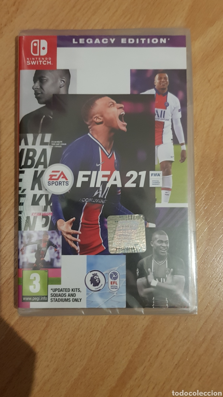 FIFA 21 (Juguetes - Videojuegos y Consolas - Nintendo - Switch)