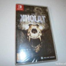 Videojuegos y Consolas Nintendo Switch: KHOLAT NINTENDO SWITCH PAL ESPAÑA NUEVO PRECINTADO. Lote 266148923