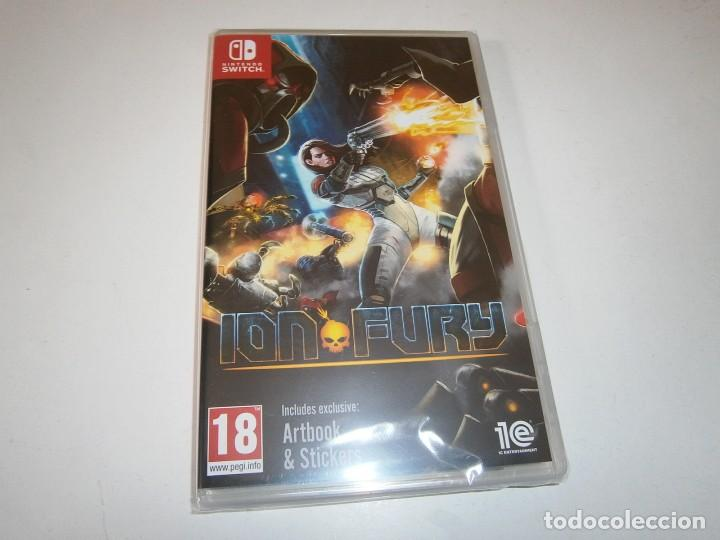 ION FURY NINTENDO SWITCH PAL NUEVO PRECINTADO (Juguetes - Videojuegos y Consolas - Nintendo - Switch)