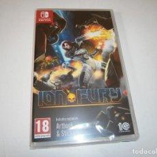 Videojuegos y Consolas Nintendo Switch: ION FURY NINTENDO SWITCH PAL NUEVO PRECINTADO. Lote 266149008