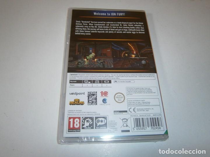 Videojuegos y Consolas Nintendo Switch: ION FURY NINTENDO SWITCH PAL NUEVO PRECINTADO - Foto 2 - 266149008