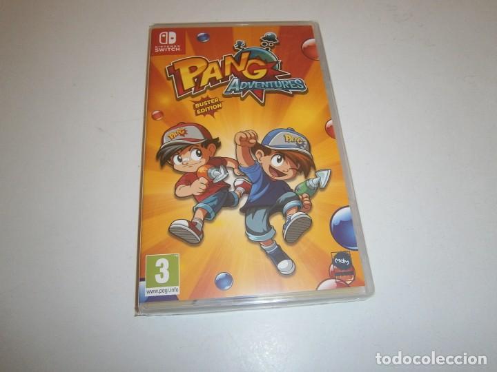PANG ADVENTURES BUSTER EDITION NINTENDO SWITCH PAL ESPAÑA NUEVO PRECINTADO (Juguetes - Videojuegos y Consolas - Nintendo - Switch)