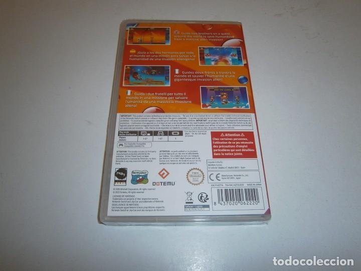 Videojuegos y Consolas Nintendo Switch: PANG ADVENTURES BUSTER EDITION NINTENDO SWITCH PAL ESPAÑA NUEVO PRECINTADO - Foto 2 - 266150258