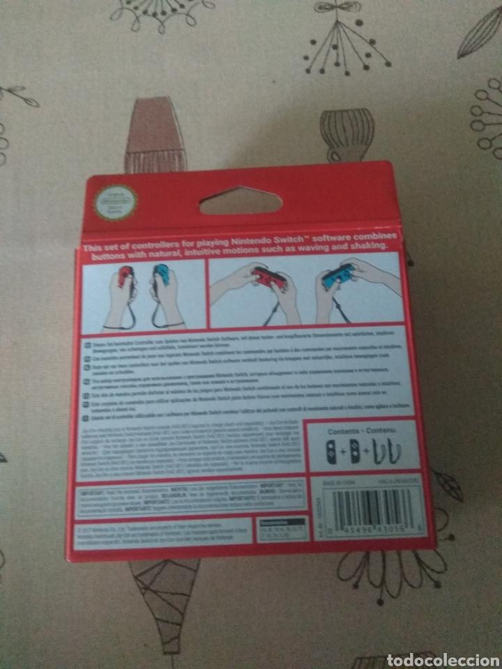 Videojuegos y Consolas Nintendo Switch: CAJA VACIA Joy-con Nintendo Switch rojo y azul - Foto 2 - 266444958