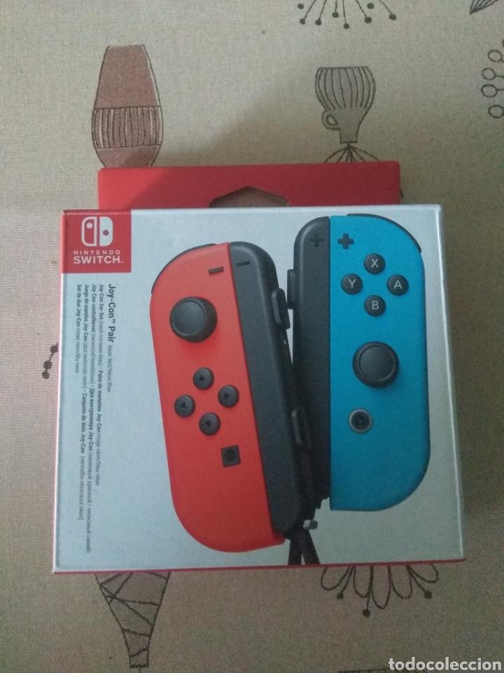 CAJA VACIA JOY-CON NINTENDO SWITCH ROJO Y AZUL (Juguetes - Videojuegos y Consolas - Nintendo - Switch)