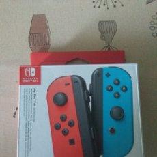 Videojuegos y Consolas Nintendo Switch: CAJA VACIA JOY-CON NINTENDO SWITCH ROJO Y AZUL. Lote 266444958