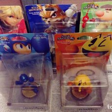 Videojuegos y Consolas Nintendo Switch: LOTE DE 5 AMIIBOS NUEVOS PRECINTADOS: PACMAN, MEGAMAN, SHULK,FOX, OLIMAR - NINTENDO AMIIBO XENOBLADE. Lote 266896204