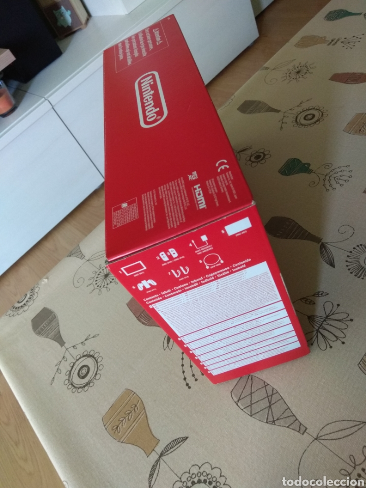 Videojuegos y Consolas Nintendo Switch: CAJA, INTERIOR Y BOLSAS Nintendo Switch - Foto 2 - 267104119