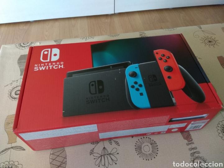 Videojuegos y Consolas Nintendo Switch: CAJA, INTERIOR Y BOLSAS Nintendo Switch - Foto 4 - 267104119