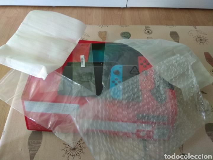 Videojuegos y Consolas Nintendo Switch: CAJA, INTERIOR Y BOLSAS Nintendo Switch - Foto 6 - 267104119