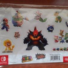 Videojuegos y Consolas Nintendo Switch: IMANES SÚPER MARIO 3D WORLD+ BOWSTER'S FURY NUEVO. Lote 267235684