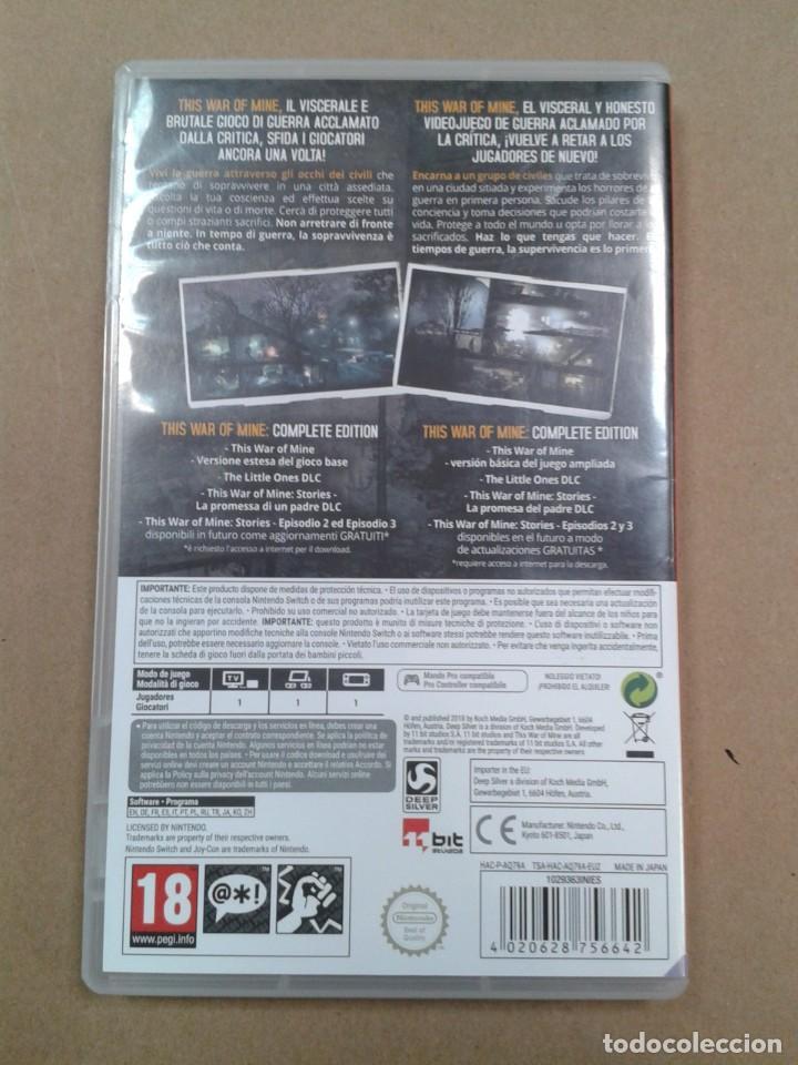 Videojuegos y Consolas Nintendo Switch: This War of Mine - Nintendo Switch - Foto 2 - 267269649