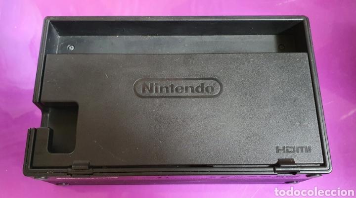 Videojuegos y Consolas Nintendo Switch: BASE PARA NINTENDO SWITCH DOCK ORIGINAL COMPATIBLE CON HDMI TV STATION DE CARGA - Foto 4 - 268717099
