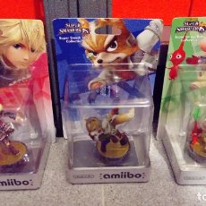 Videojuegos y Consolas Nintendo Switch: LOTE DE 3 AMIIBOS NUEVOS Y SELLADOS: SHULK, FOX, OLIMAR - NINTENDO AMIIBO XENOBLADE, STARFOX, PIKMIN. Lote 269063593