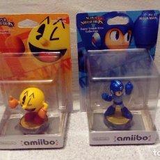 Videojuegos y Consolas Nintendo Switch: LOTE DE 2 AMIIBOS NUEVOS Y SELLADOS: PACMAN Y MEGAMAN - NINTENDO AMIIBO PAC MAN, MEGA MAN. Lote 269064523