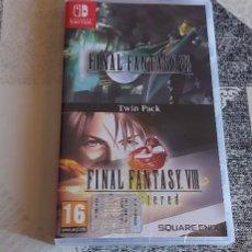 Videojuegos y Consolas Nintendo Switch: FINAL FATANTASY VII + VIII REMASTERED NINTENDO SWITCH PAL ESPAÑA PRECINTADO. Lote 272950963
