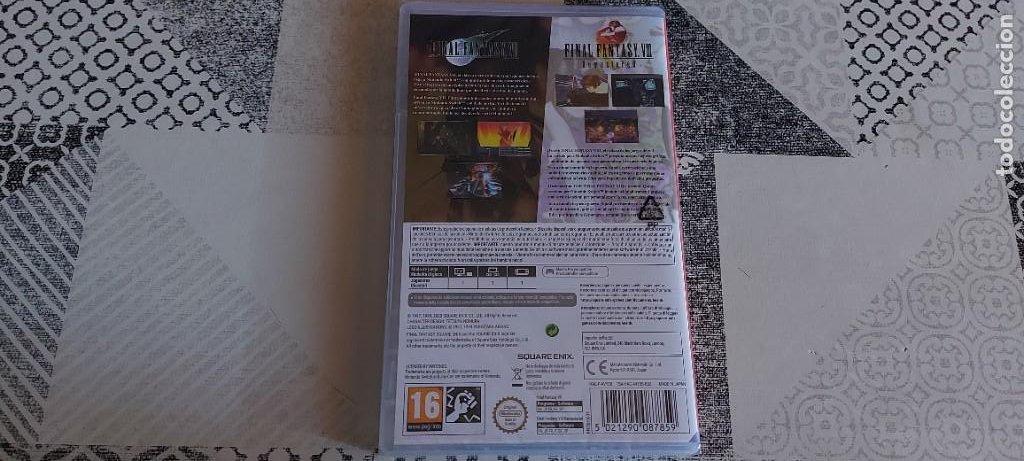 Videojuegos y Consolas Nintendo Switch: FINAL FATANTASY VII + VIII REMASTERED NINTENDO SWITCH PAL ESPAÑA PRECINTADO - Foto 2 - 272950963