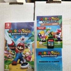 Videojuegos y Consolas Nintendo Switch: MARIO RABBIDS KINGDOM BATTLE - NINTENDO SWITCH KREATEN. Lote 276574463