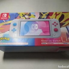 Videojuegos y Consolas Nintendo Switch: SWITCH LITE POKEMON ZACIAN AND ZAMAZENTA EDITION. Lote 277439013