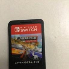 Videojuegos y Consolas Nintendo Switch: JUEGO DE NINTENDO SWITCH GEAR CLUB UNLIMITED. Lote 277652408