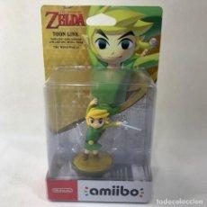 Videojuegos y Consolas Nintendo Switch: NINTENDO AMIIBO - ZELDA - TOON LINK - NUEVO SIN ABRIR. Lote 279461103