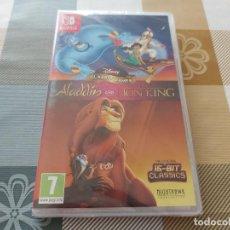 Videojuegos y Consolas Nintendo Switch: ALADIN Y REY LEON NINTENDO SWITCH - PRECINTADO ESP. Lote 283056903