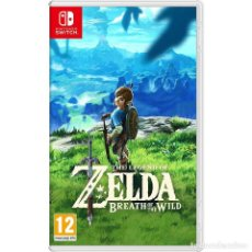 Videojuegos y Consolas Nintendo Switch: LEGEND OF ZELDA BREATH OF THE WILD - SWI. Lote 285829913