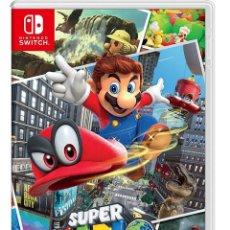 Videojuegos y Consolas Nintendo Switch: SUPER MARIO ODYSSEY - SWI. Lote 285829963