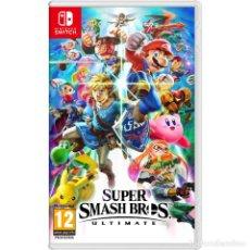 Videojuegos y Consolas Nintendo Switch: SUPER SMASH BROS ULTIMATE - SWI. Lote 285830068