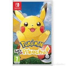 Videojuegos y Consolas Nintendo Switch: POKEMON LETS GO PIKACHU! - SWI. Lote 285830318