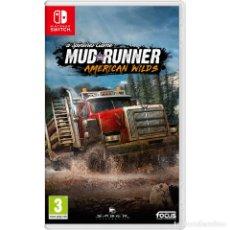 Videojuegos y Consolas Nintendo Switch: SPINTIRES MUDRUNNER - AMERICAN WILDS - SWI. Lote 285830398