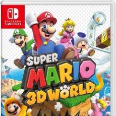 Videojuegos y Consolas Nintendo Switch: SUPER MARIO 3D WORLD + BOWSER FURY - SWI. Lote 285831208