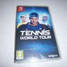 Videojuegos y Consolas Nintendo Switch: TENNIS WORLD TOUR NINTENDO SWITCH PAL NUEVO PRECINTADO. Lote 286701068