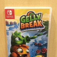 Videojuegos y Consolas Nintendo Switch: GELLY BREAK NINTENDO SWITCH (2ª MANO - BUENO). Lote 288424798