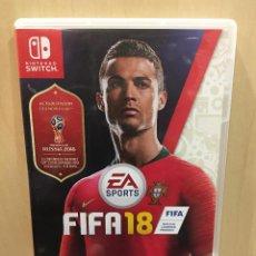 Videojuegos y Consolas Nintendo Switch: FIFA 18 - EDICIÓN ESTÁNDAR - SWI (2ª MANO - BUENO). Lote 288424808
